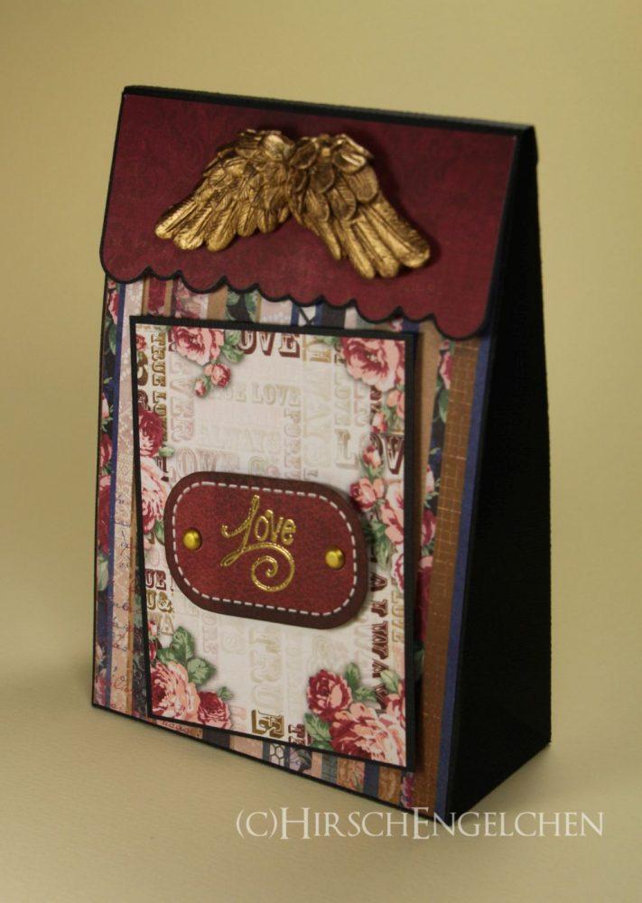Laschenbox mit Engelsflügel