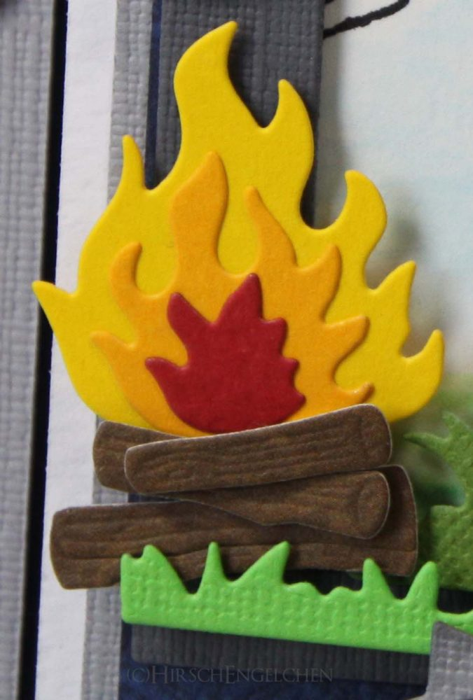 Detail Lagerfeuer