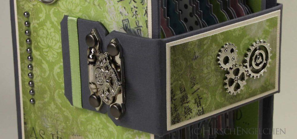 Minialbum für Passbilder Verschluss