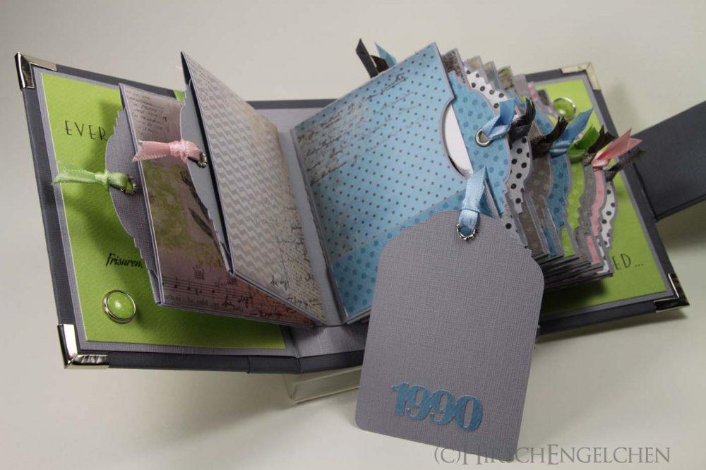 Minialbum Passbilder Tags Rückseite