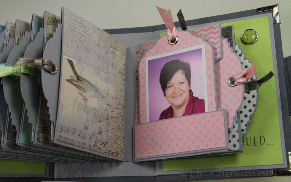Minialbum Passbilder Foto aktuell