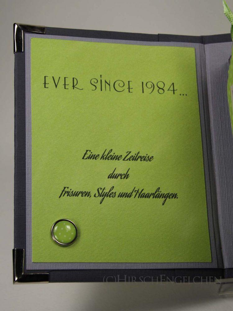 Minialbum Passbilder Einband innen vorne