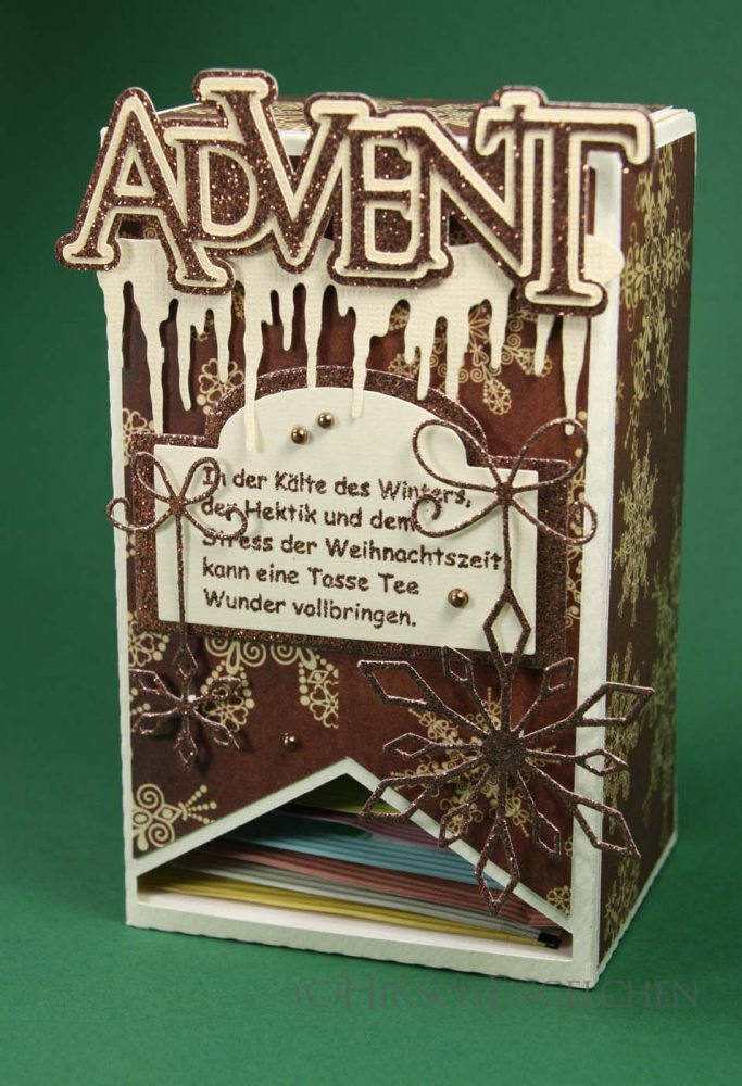 Teebeutel Adventskalender Advent