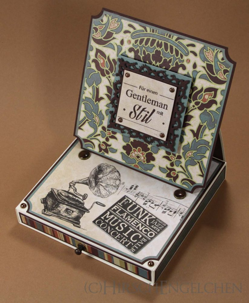 Easel Card Box Front