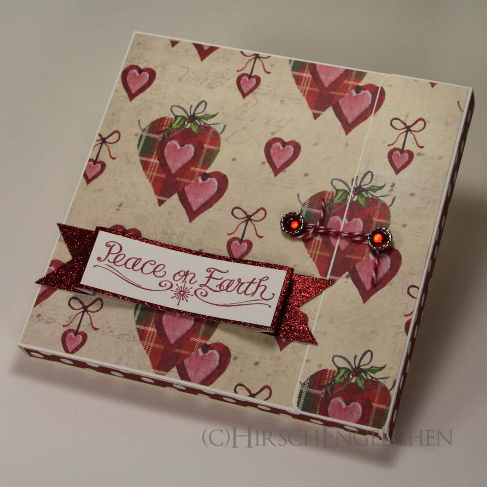Paper Pad gift box red