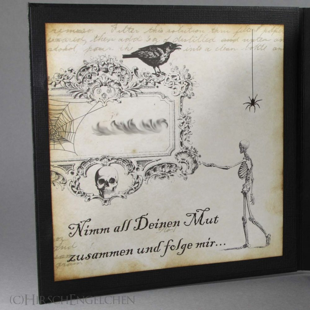 halloween framecard left side