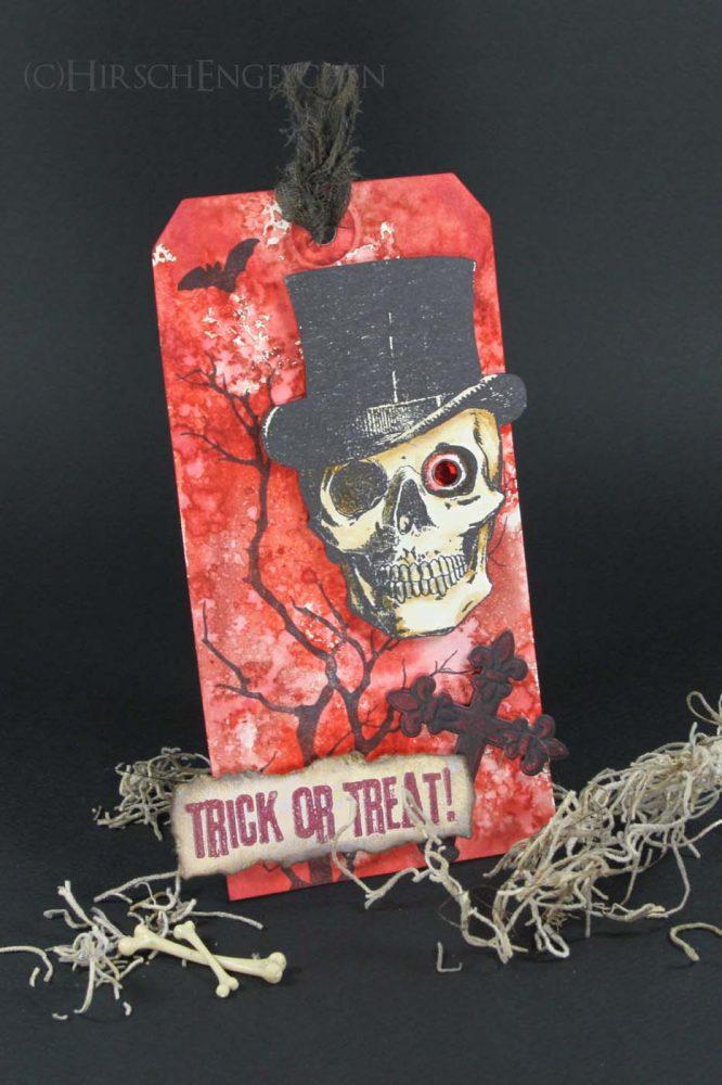 mister bones halloween tag