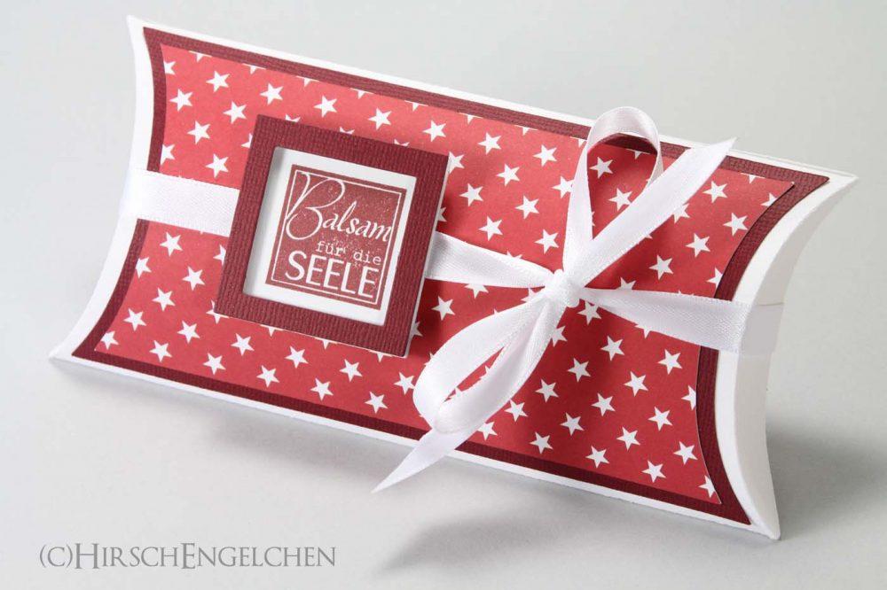 Wellness Set mit Sternchen pillowbox