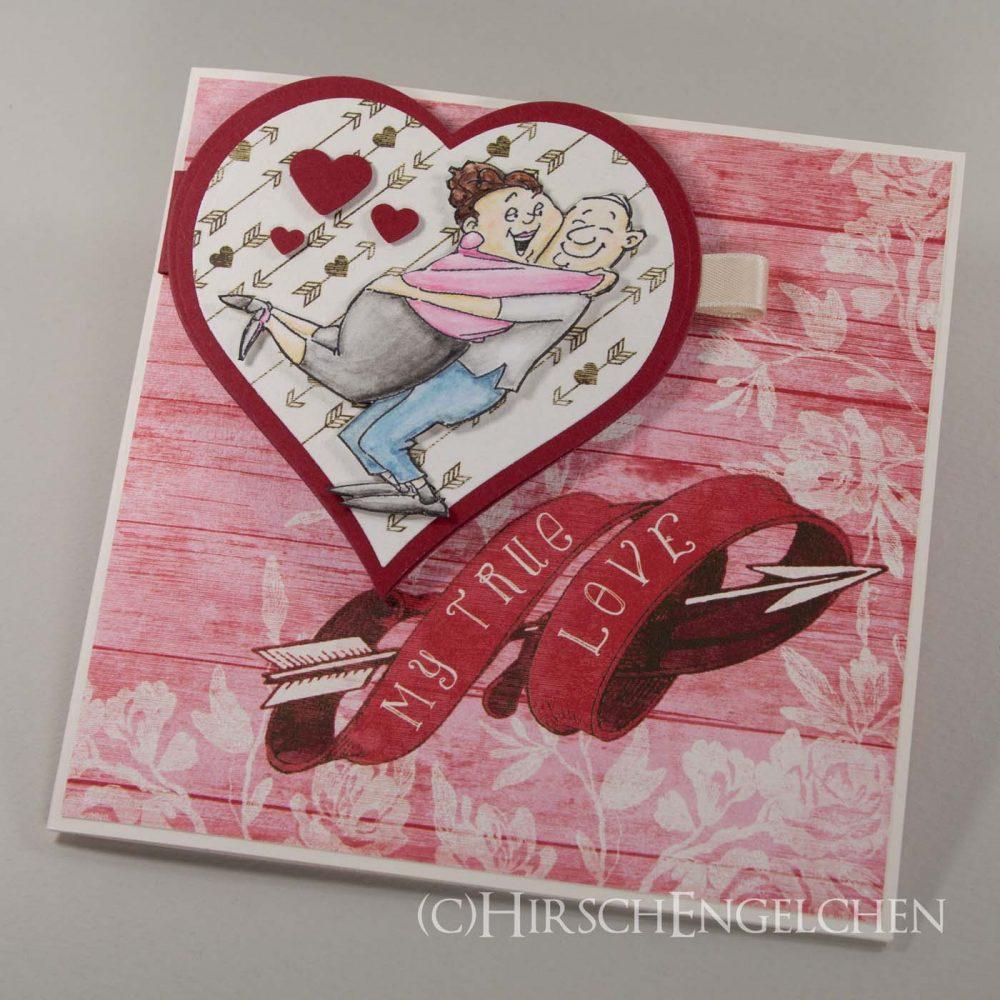 Liebeserklärung zum Valentinstag
