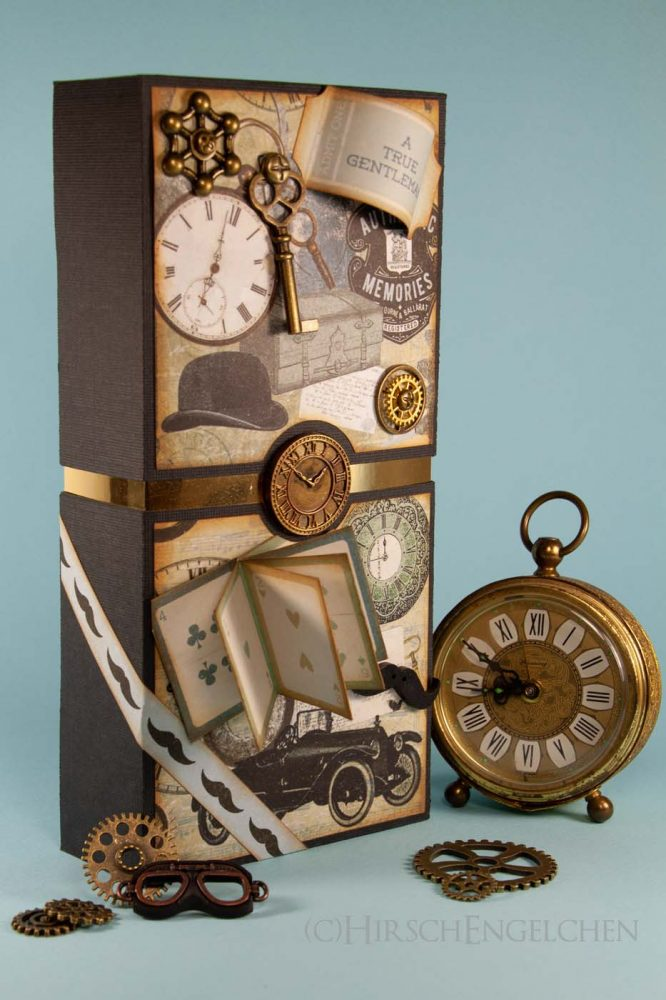 Vintage Whisky Box