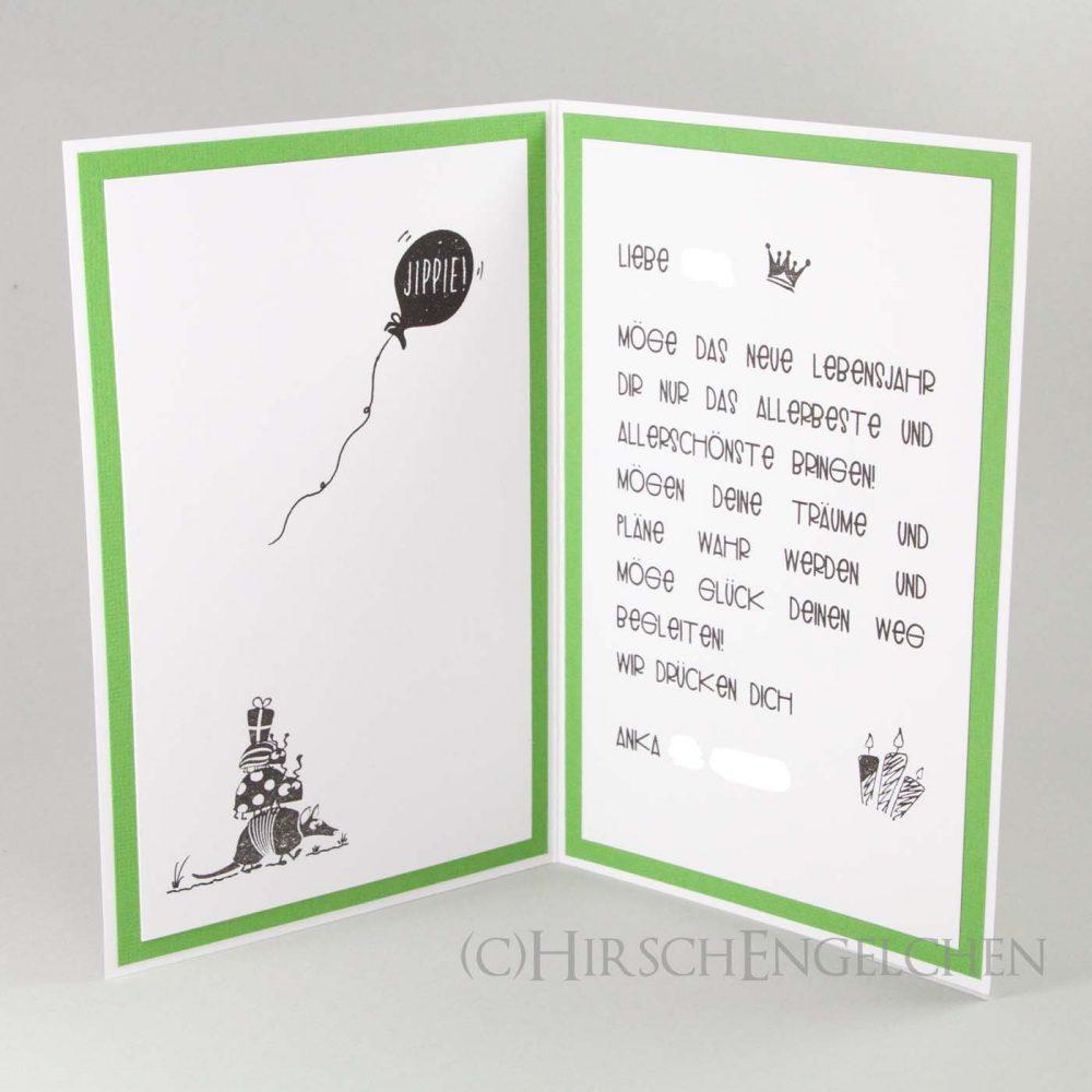 Funny animals card