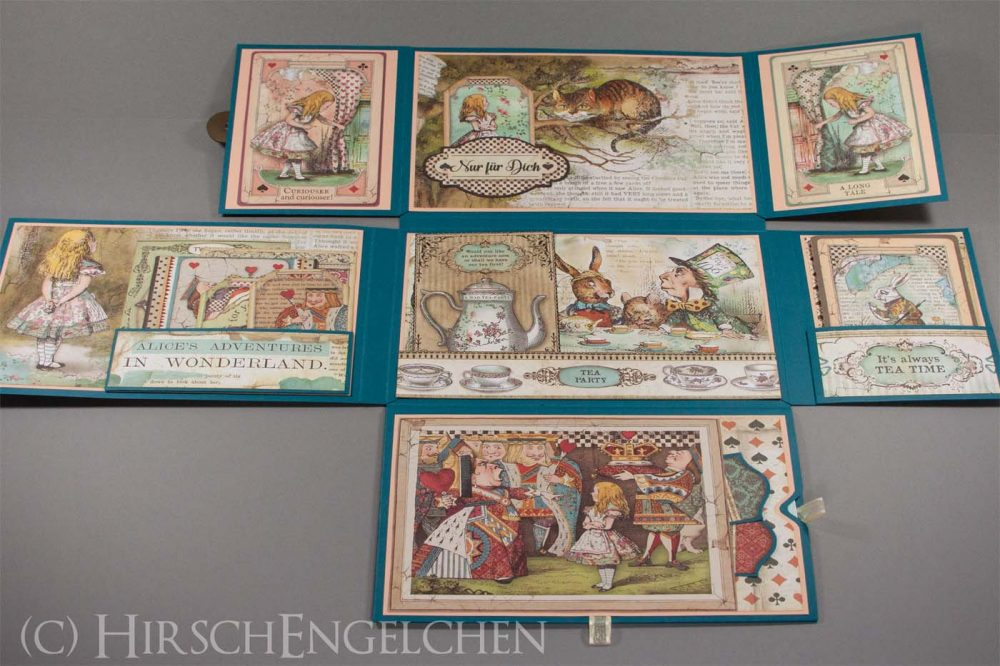 Alice im Wunderland Folio