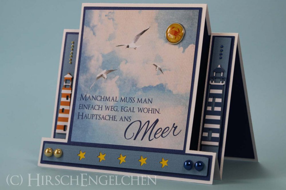 Maritime Centerstep Card