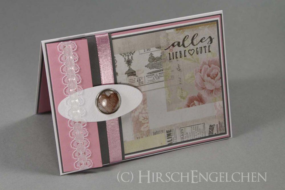 Geburtstags Set in rosa