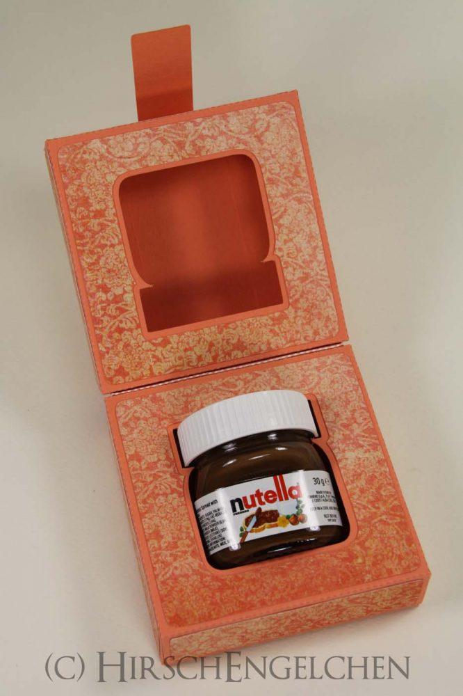 Motivationshilfe mit Mini Nutella