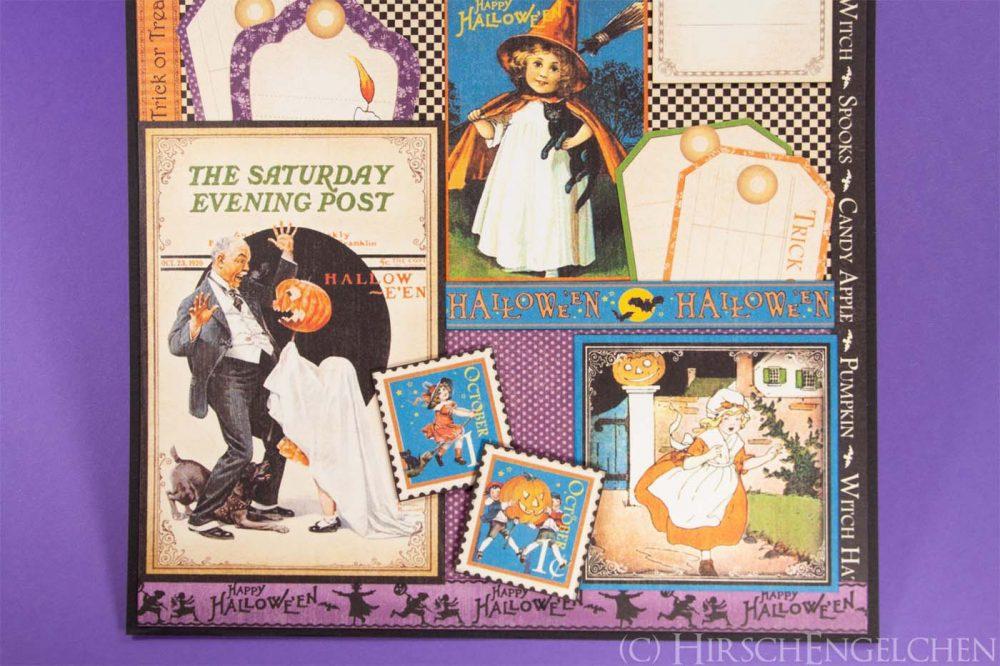 Geburtstagskalender mit Graphic 45 - Oktober